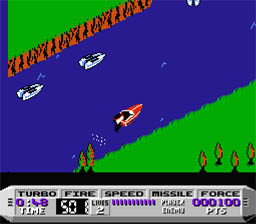 Cobra Triangle NES ScreenShot2