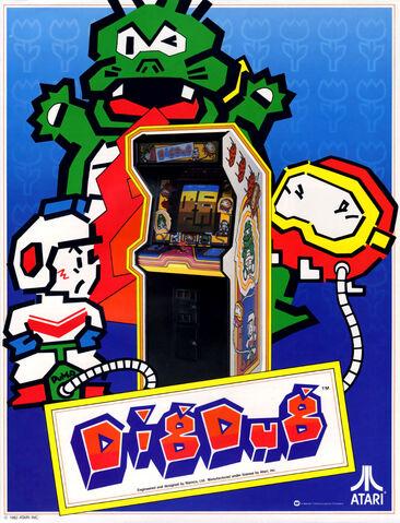 File:Dig Dug arcade flyer.jpg