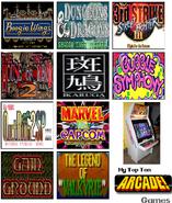 Top ten arcade