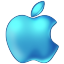 File:Apple Blue 64px.png
