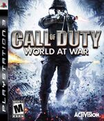 Playstation 3 call of duty world at war