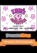 3DClassicsKirby'sAdventure