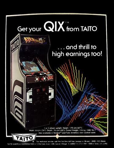 File:Qix arcade flyer.jpg