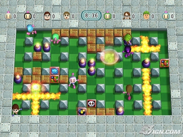 File:Bomberman Blast Screen.jpg