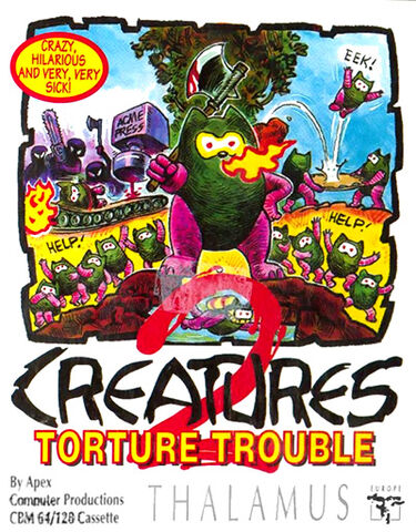 File:Creatures 2 C64 cover.jpg