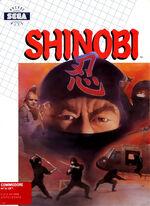 Shinobi C64 cover