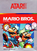 Atari 2600 Mario Bros box art
