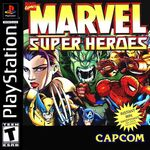 Marvel super heroes ps1 cover