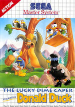 Lucky Dime Caper SMS box art