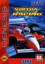 Virtua Racing Genesis box art