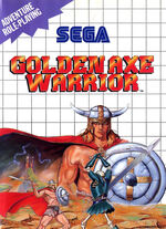 Golden Axe Warrior SMS box art
