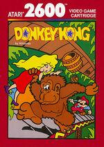 Atari 2600 Donkey Kong box art