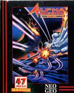 Alpha Mission 2 NeoGeo Cover