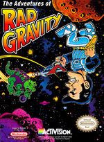 Adventures of Rad Gravity NES cover