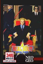 Real Bout NeoGeo Cover