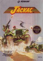 Jackal NES cover