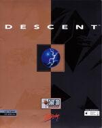 Descent DOS cover