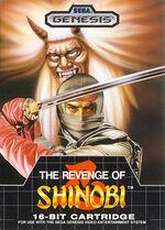 Revenge of shinobi front