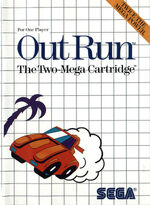 Out Run SMS box art