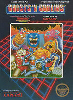 Ghosts n goblins NES boxart