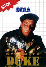 Dynamite Duke SMS box art