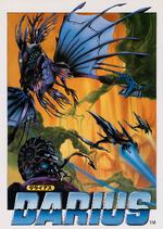 Darius arcade flyer