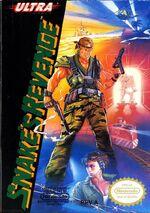 Snakes Revenge NES cover