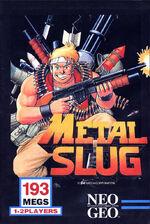 Metal Slug NeoGeo Cover