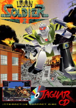 Iron Soldier 2 Atari Jaguar CD cover
