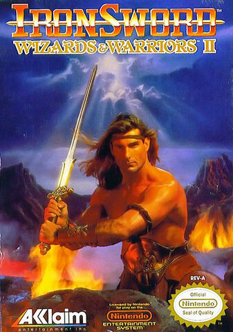 File:Wizards and Warriors 2 Ironsword NES cover.jpg