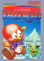 Atari 2600 Pengo box art