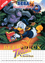 Deep Duck Trouble SMS box art