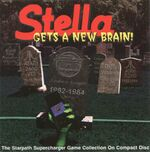 Supercharger Stella Gets A New Brain box art