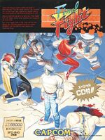 Final Fight X68000 cover
