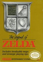 Legend of Zelda NES cover