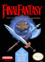 Final Fantasy NES cover