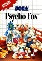 Psycho Fox SMS box art