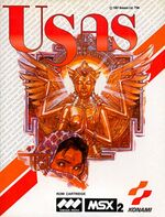 Treasure of Usas MSX2 cover