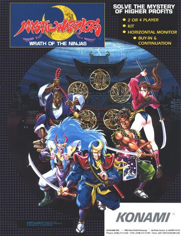 File:Mystic Warriors arcade flyer.jpg