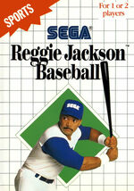 Reggie Jackson Baseball SMS box art