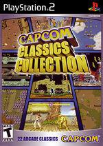 Capcom Classics Collection PS2 cover