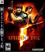Resident evil5 cover