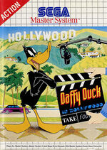Daffy Duck in Hollywood SMS box art