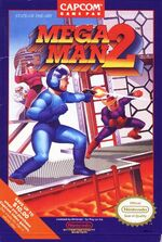 Mega Man 2 NES cover