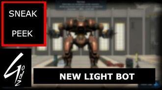War Robot - NEW LIGHT BOT - Sneak Peek