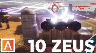 10 ZEUS 1 Target - War Robots - Gameplay (Springfield)