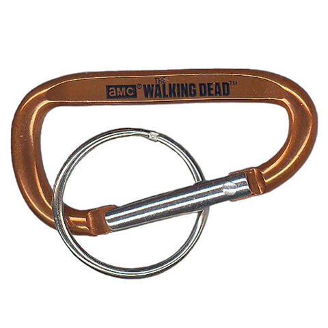 File:The Walking Dead - Carabiner Clip (Season 2) - ORANGE (2.5 inch).jpg