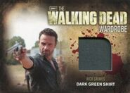 M16 Rick Grimes Dark Green Shirt