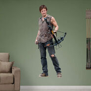 Daryl Dixon Fathead Wall Decal