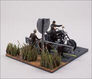 Daryl Dixon with Chopper (The Walking Dead TV) McFarlane Building Set 3